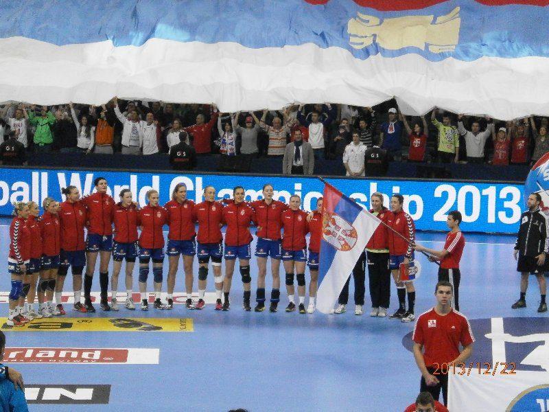 Handball-WM 2013 Serbien - Finale: Brasilien vs. Serbien 22:20 am 22.12.2013 - Foto: SPORT4Final