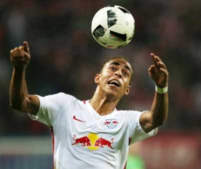 Deutsche Bundesliga, RasenBallsport Leipzig vs. Borussia Mönchengladbach - Yussuf Poulsen (RB Leipzig) - Foto: GEPA pictures/Roger Petzsche