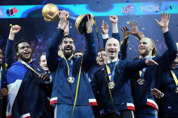 Handball wm 2017 frankreich nikola karabatic mvp und all star team - Coupe du monde du handball 2015 ...