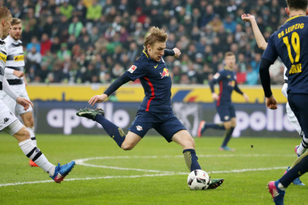 """RB Leipzig mit """"big point Match""""-Reaktion bei Borussia Mönchengladbach"""