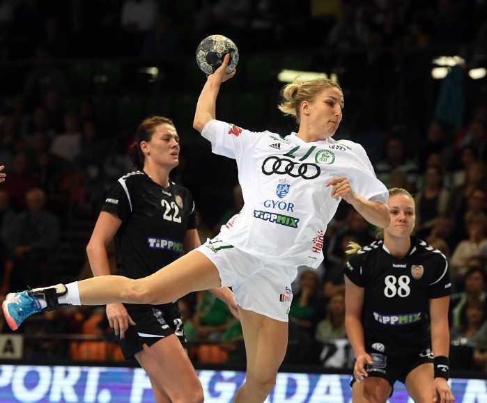 Cornelia Nycke Groot - Györi Audi ETO KC - Handball Ungarn - EHF Champions League - Foto: Aniko Kovacs und Tamas Csonka - Györi Audi ETO KC