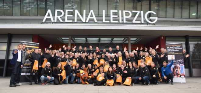 Handball WM 2017 Deutschland - Volunteer-Treffen in Leipzig - Foto: unikumarketing