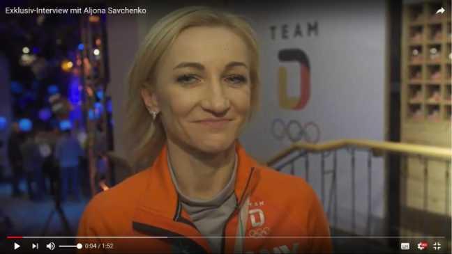 Olympia PyeongChang 2018 - Aljona Savchenko - Eiskunstlaufen Paare - Quelle / Copyright: DOSB / SID Marketing