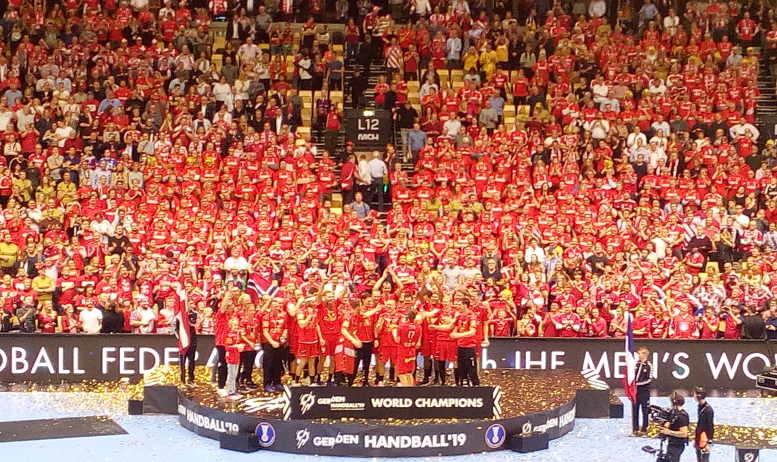 Handball WM 2019 Dänemark Weltmeister - Foto: SPORT4FINAL