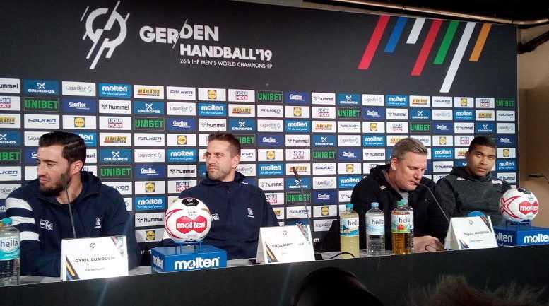 Handball WM 2019 - Frankreich Dänemark Pressekonferenz - Foto: SPORT4FINAL