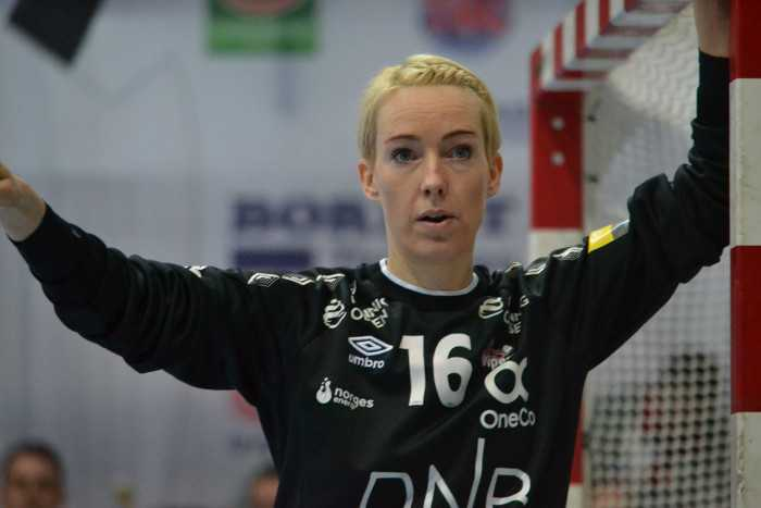 Katrine Lunde - Vipers Kristiansand - Thüringer HC vs. Kristiansand - Handball EHF Champions League - 03.03.2019 Nordhausen - Foto: Hans-Joachim Steinbach
