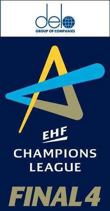 DELO Logo - Handball Frauen EHF Champions League - Foto: EHF Media