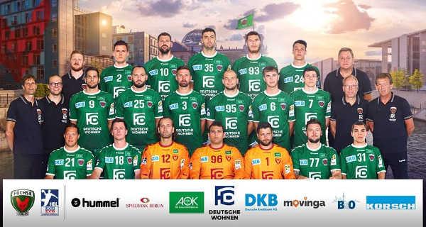 Füchse Berlin - Handball Saison 2019-2020 - Foto: Füchse Berlin