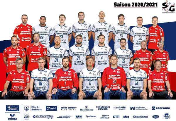 SG Flensburg Handewitt - Handball Bundesliga und EHF Champions League Saison 2020-2021 - Copyright: SG Flensburg-Handewitt