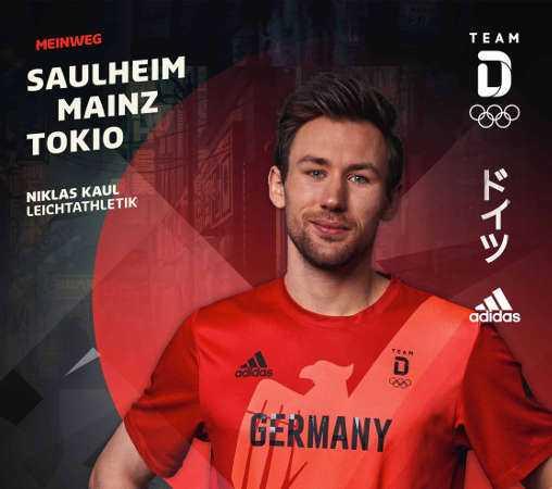Olympia Tokio 2020 - Niklas Kaul - #MeinWeg - Copyright: DOSB